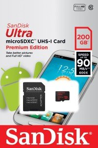 SanDisk Ultra 200GB Micro SD