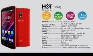 Infinix Hot X507