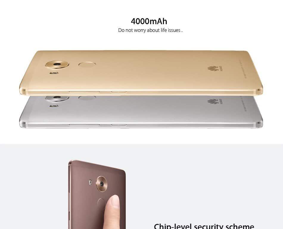 Huawe Mate 8 smartphone