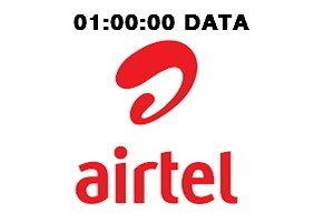 Airtel time based data