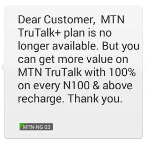 MTN TrueTalk