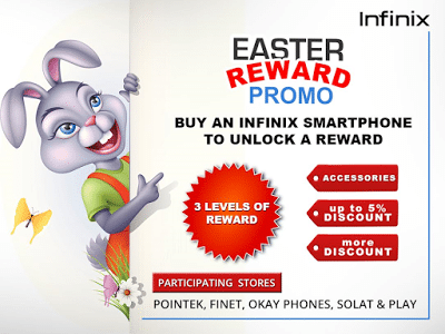 infinix easter promo