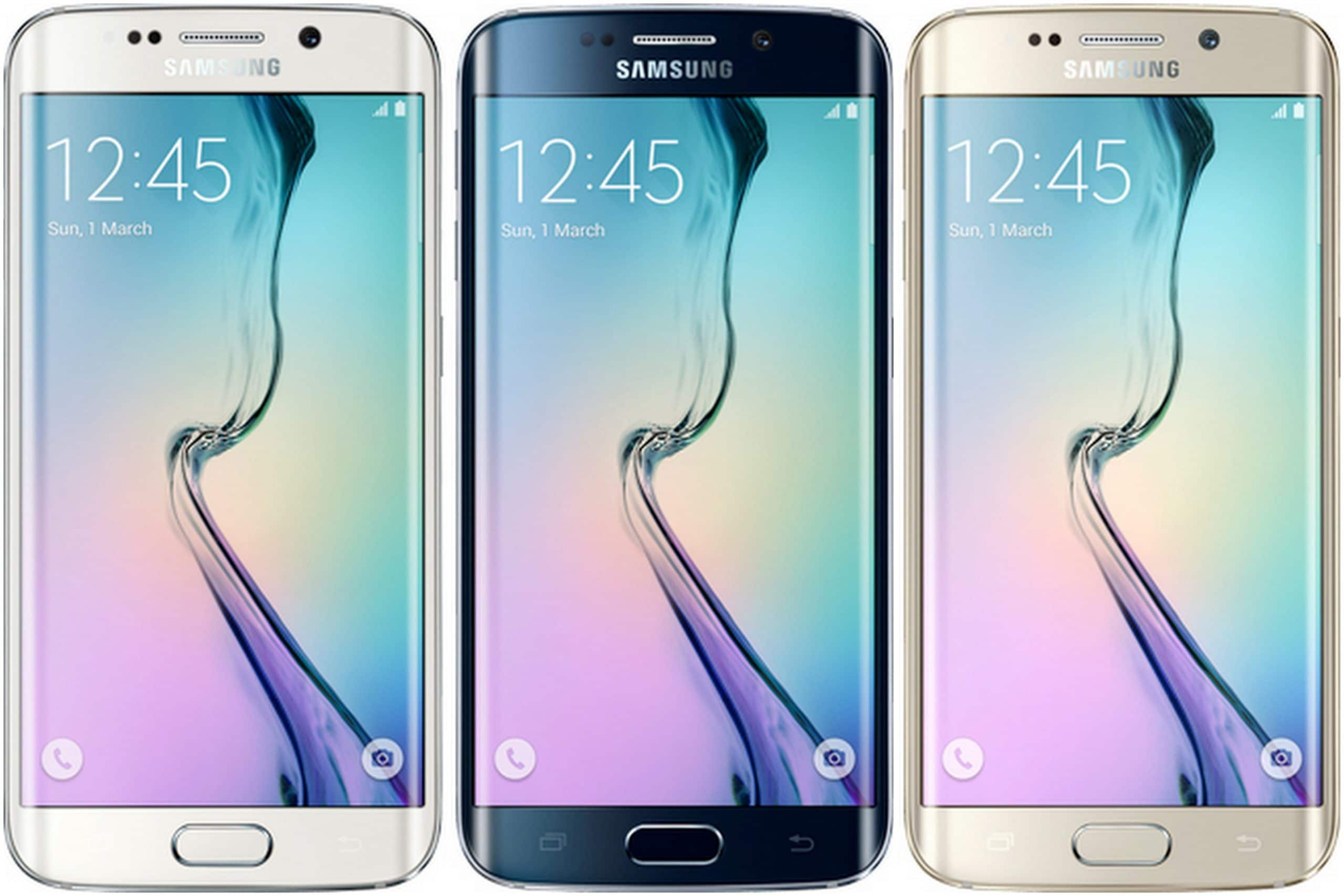 Samsung Galaxy S6 Edge smartphones
