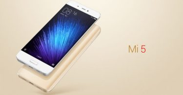 xiaomi mi 5 android smartphone