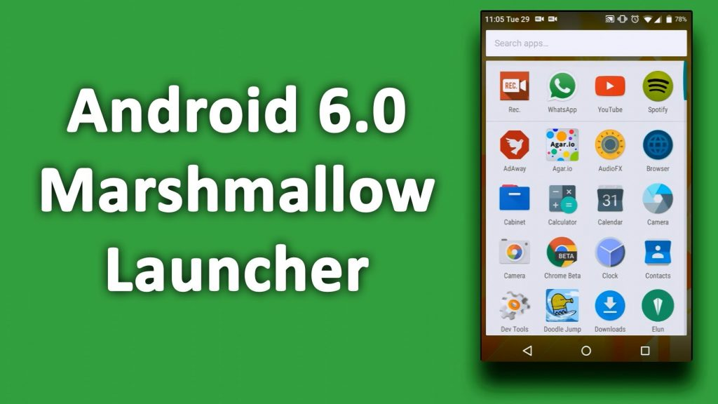 Download Best Android Marshmallow 6 0 launcher apk