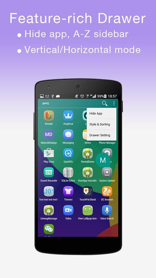 M LAUNCHER -ANDROID M LAUNCHER