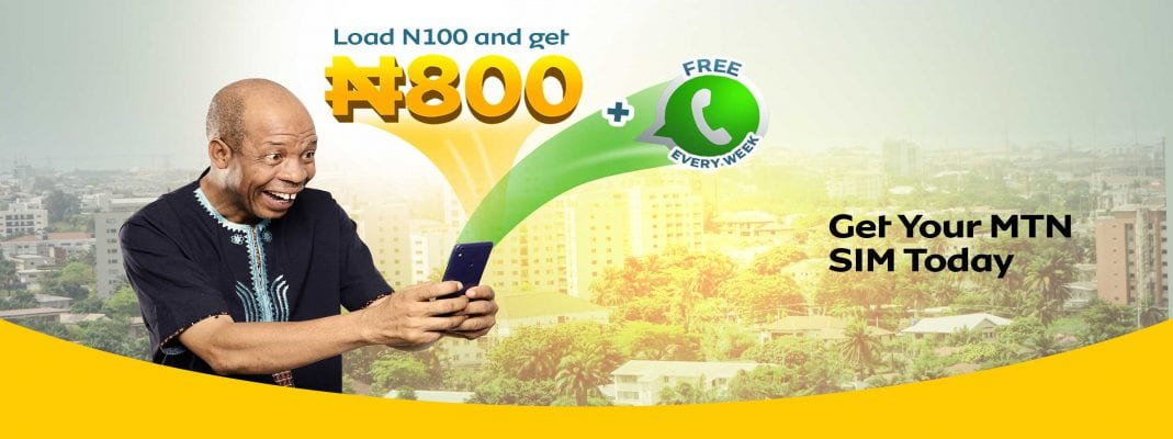 mtn startpack and YafunYafun SIM Offer