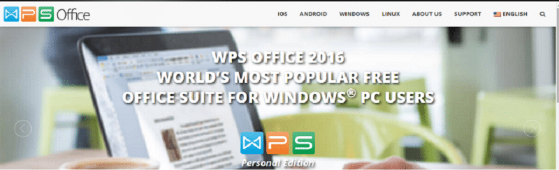 Free WPS Office 2016 Personal Edition - For All Devices
