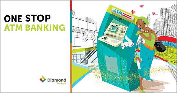 Diamond Bank One-Stop ATM1