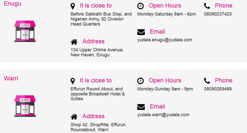 Yudala Online Shopping Stores5