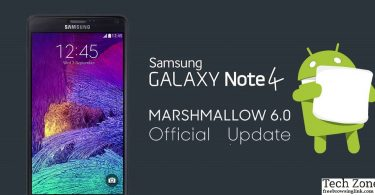 android 6 marshmallow samsung note 4