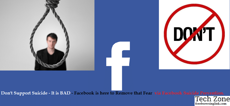 facebook suicide tool