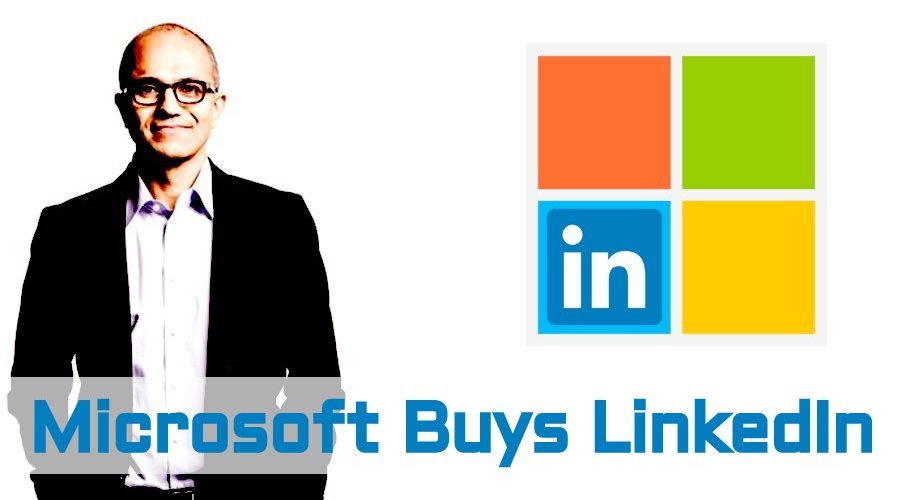 microsoft buys linkedin for a higher amount