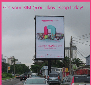 ntel sim now in lagos