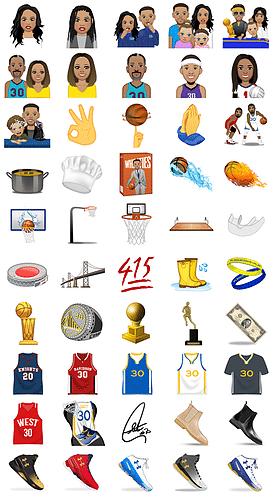 Download Stephen Curry Emoji - Steph Curry Launch Emoji App