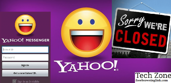 yahoo messenger is closing