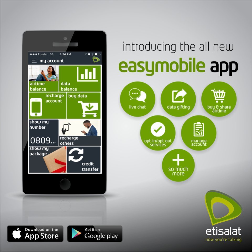 Download 9mobile EasyMobile - my9mobile app to buy airtime