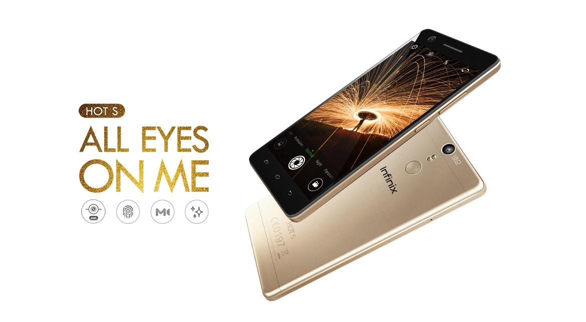 infinix hot s phone