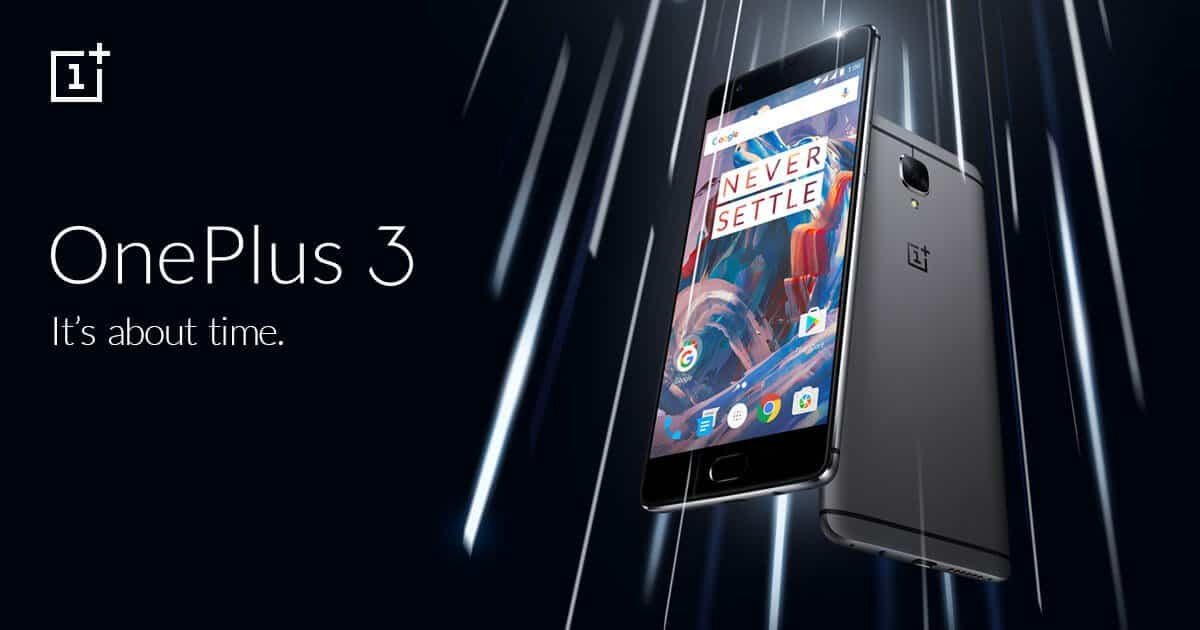 one plus 3 android