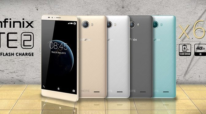 Infinix Note 2 X600 Price In Nigeria