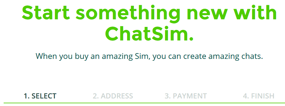 buy chatsim now