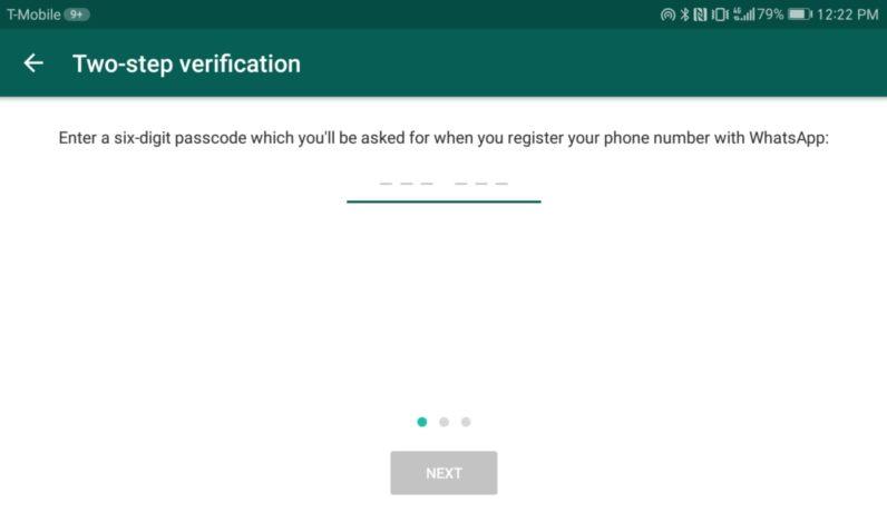 whatsapp-verification-code
