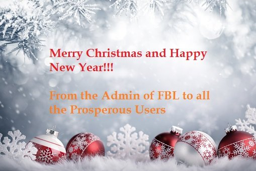 christmas tree from fbl admin