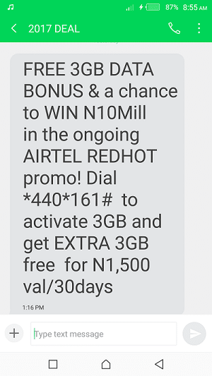 airtel 6gb for 1500