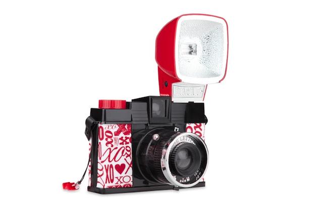A flashy camera