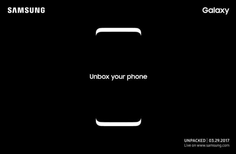 samsung galaxy s8 invites