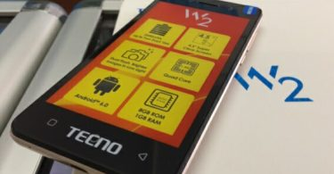 tecno w2 smartphone