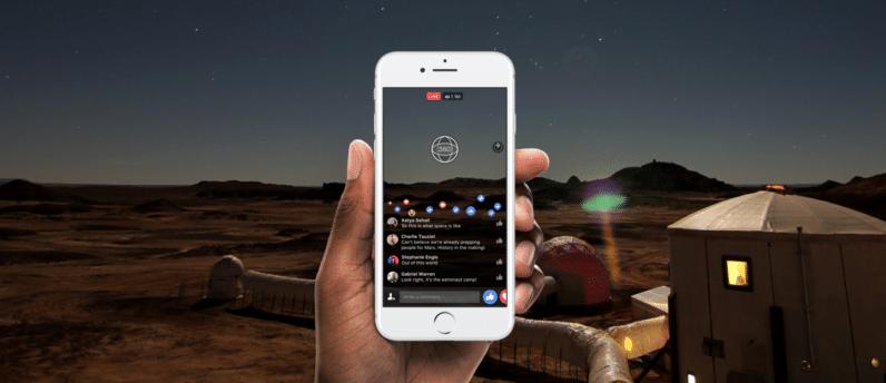Facebook 360 livestreaming