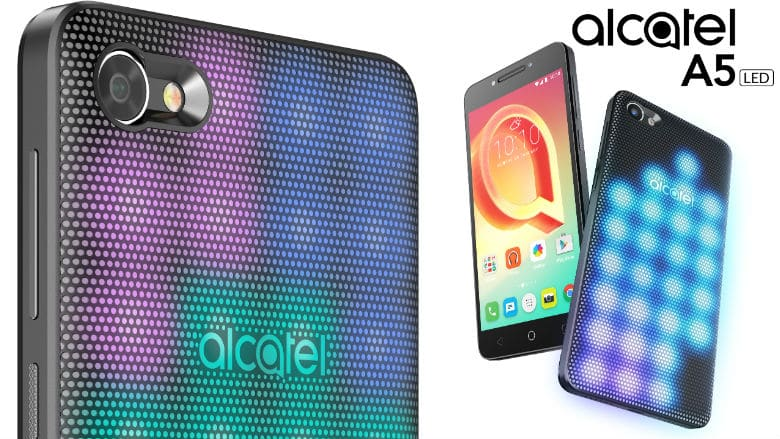 alcatel a5 led phone