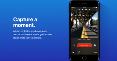apple clips video sharing app