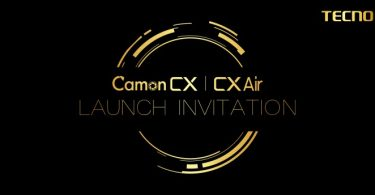 tecno camon cx air launch