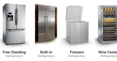 types of refrigertor