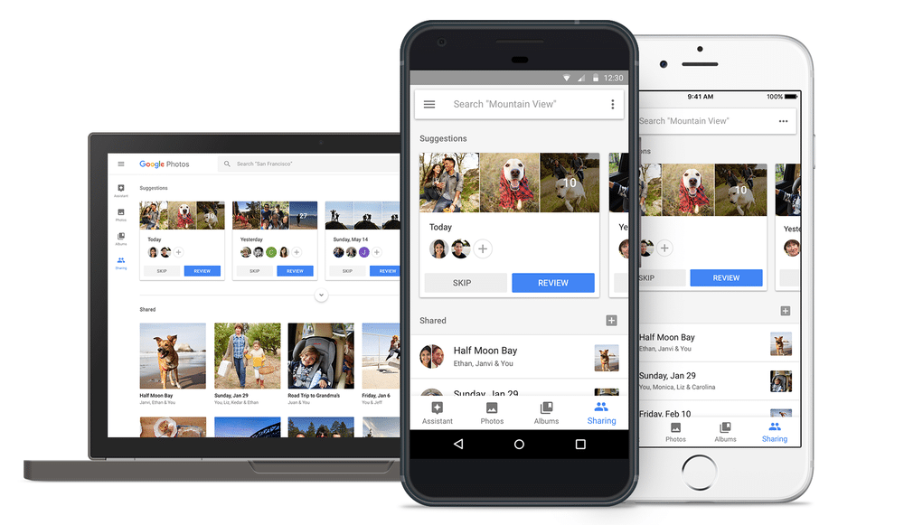 google photos on android ios