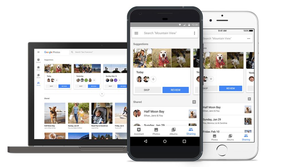 google photos on android ios