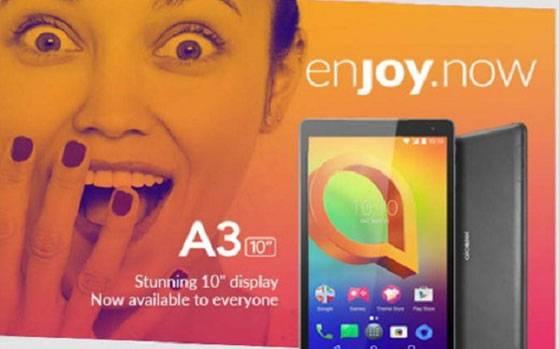 Alcatel A3 10 tablet