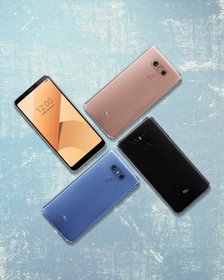 LG G6 PLus new colors