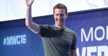 Mark of Facebook
