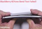 blackberry keyone bend test