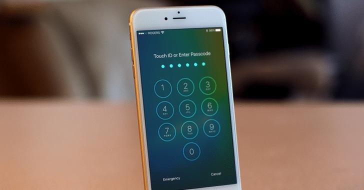 iphone password