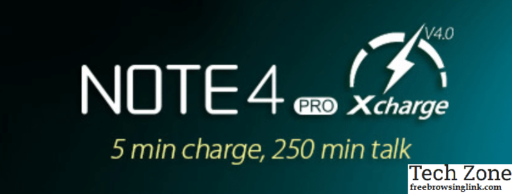 NOTE4 PRO xcharge 4.0