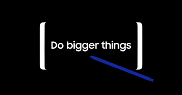 Samsung invite to note 8 launching