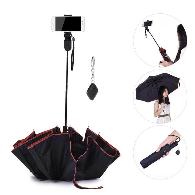 umbrella with selfie