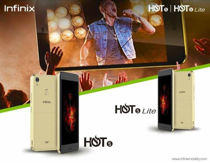 Infinix Hot 5 smartphone
