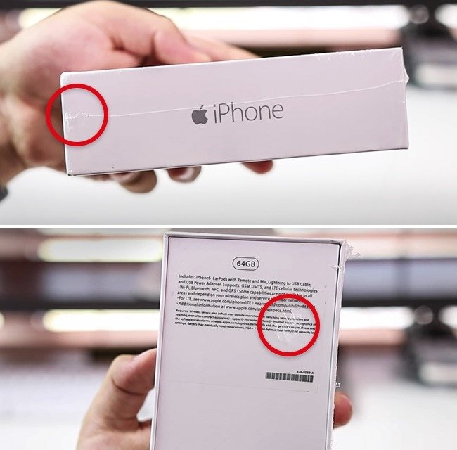 Packaging errors