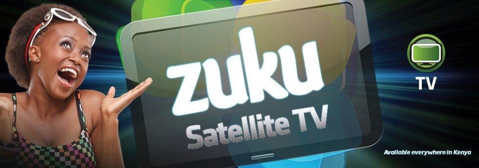 Zuku satellite