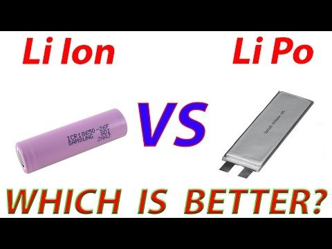 differences between li poly and li ion battery